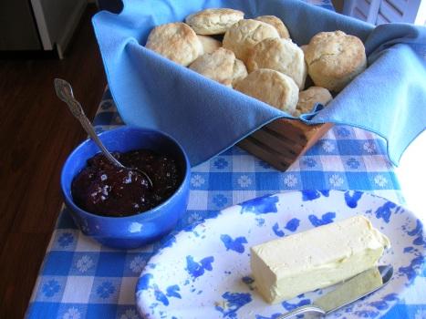 Fluffy Cream Biscuits