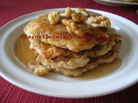 Nutty Oat Pancakes - Copy