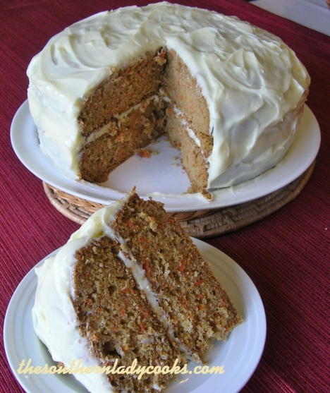 Old-Fashioned Carrot Cake - Copy
