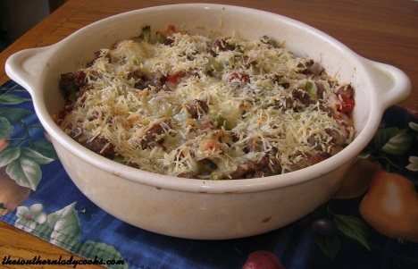 Sausage and Cabbage Casserole
