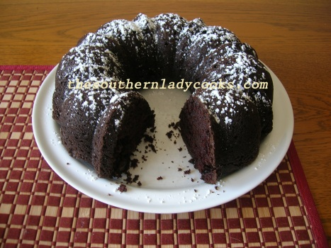 Chocolate Mayonnaise Cake - Copy